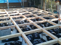 備長炭の床下用調湿炭